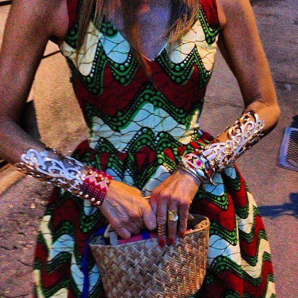 @jgiabijoux #jgiabijoux @lexy_jgia beautiful cuff (@anna_dello_russo)