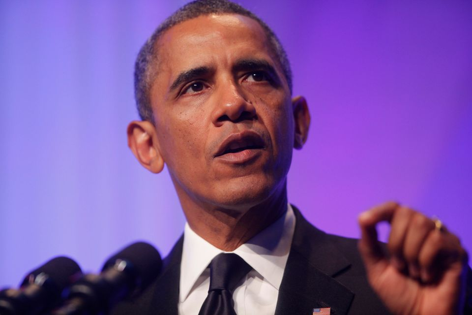 "Obama is a <a href=""http://articles.washingtonpost.com/2012-09-25/politics/35496484_1_sasha-and-malia-michelle-obama-first-da"