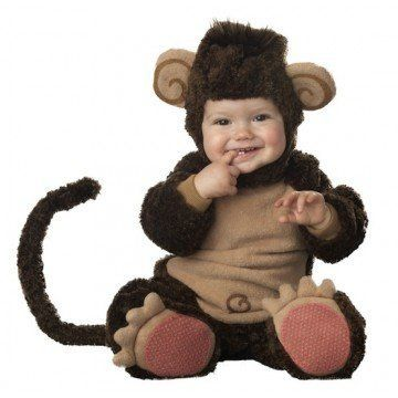 "<strong>Infant/Toddler Monkey Costume</strong>  $30.81 | <a href=""http://www.amazon.com/dp/B003AIL5SU?tag=thehuffingtop-20"" t"