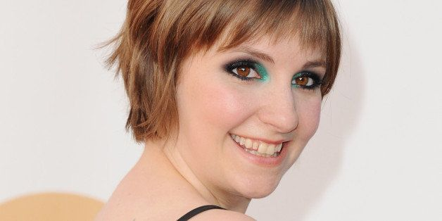 LOS ANGELES, CA - SEPTEMBER 22:  Actress Lena Dunham arrives at the 65th Annual Primetime Emmy Awards at Nokia Theatre L.A. Live on September 22, 2013 in Los Angeles, California.  (Photo by Jon Kopaloff/FilmMagic)