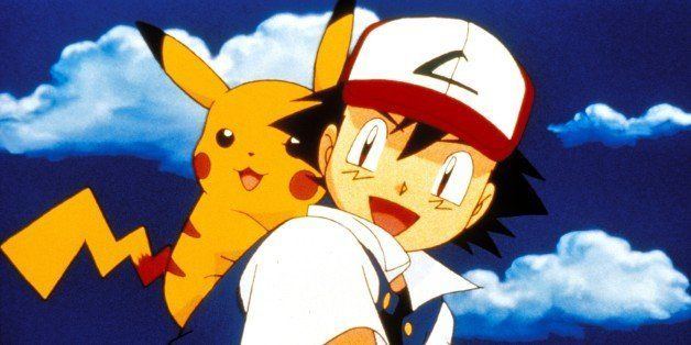 UNITED STATES - SEPTEMBER 01:  Film 'Pokemon' In United States In September 2000-Pikachu and Ash.  (Photo by Karine WEINBERGER/Gamma-Rapho via Getty Images)