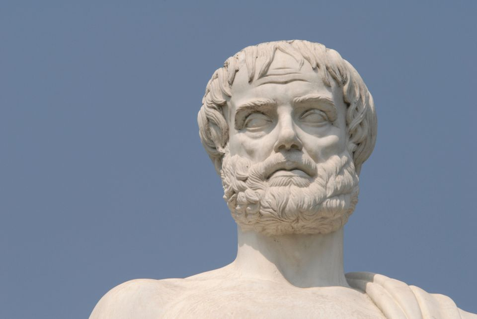 """Happiness is the meaning and the purpose of life, the whole aim and end of human existence,"" Aristotle wrote.  The ancient G"