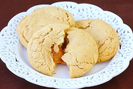 """<strong>Get the <a href=""""http://www.gimmesomeoven.com/caramel-apple-cider-cookies/"""" target=""""_blank"""">Caramel Apple Cider Cooki"""