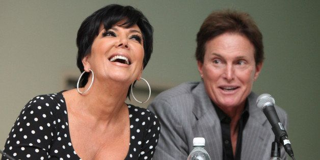 LOS ANGELES, CA - APRIL 09:  Television personalities Kris Jenner (L) and Bruce Jenner (R) attend day 1 of the Reality Rocks Expo at Los Angeles Convention Center on April 9, 2011 in Los Angeles, California.  (Photo by Chelsea Lauren/WireImage)