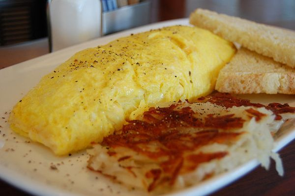 An omelette is one of the most perfect expressions of the egg's incredible versatility. It can be filled with anything. It ca