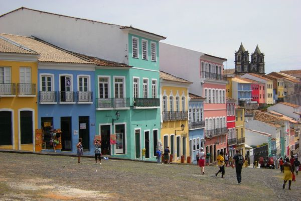 The first capital of Brazil has an exquisite historical center (often called Pelourinho) that has so strictly adhered to the
