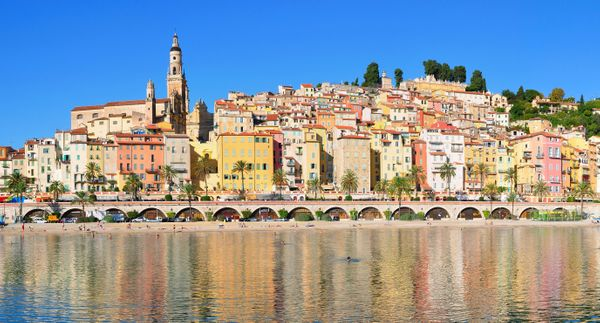 French Riviera. Beaches. Color. Need we say more?