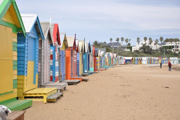 "There are some <a href=""http://www.brightonbathingbox.org.au/"" target=""_blank"">1,860 bathing ""boxes"" that dot Dendy Street Be"