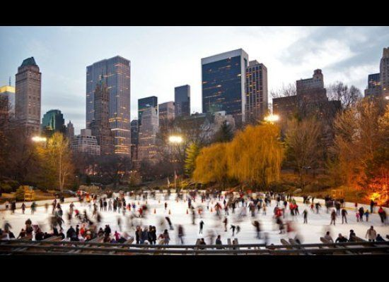 When the mercury drops in New York each fall, a handful of parks and outdoor dining venues transform into ice rinks filled wi