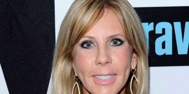 WATCH WHAT HAPPENS LIVE -- Pictured:  Vicki Gunvalson -- (Photo by: Peter Kramer/Bravo/NBCU Photo Bank via Getty Images)