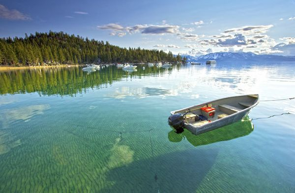 "<a href=""http://www.fodors.com/world/north-america/usa/california/lake-tahoe/"" target=""_blank"">Lake Tahoe</a> is so beautiful"