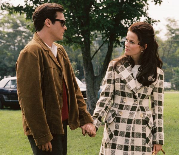 """""""'Walk The Line' with Joaquin Phoenix as Johnny Cash. I'd always loved Johnny Cash's music, but when I saw this movie I knew"""