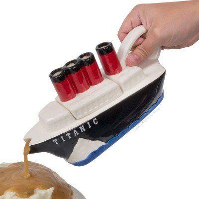 "<em><a href=""http://mcphee.com/shop/titanic-gravy-boat.html"" target=""_blank"">Titanic Gravy Boat</a>, $45.00 from Archie McPhe"
