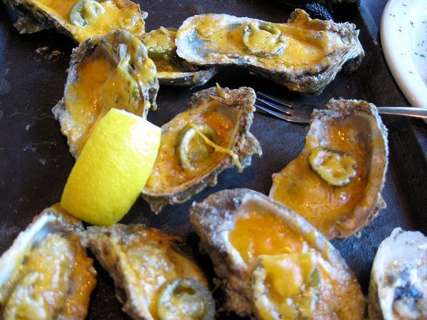 Okay, this actually initiated my gag reflex. WHY WOULD YOU EVER DO THIS TO OYSTERS OR NACHOS?