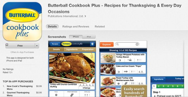 """<a href=""""https://itunes.apple.com/us/app/butterball-cookbook-plus-recipes/id549904778?mt=8"""" target=""""_blank"""">This free app</a>"""
