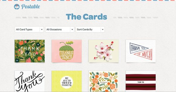 Step 1: Crowdsource addresses via secure online address book. Step 2: Pick a card from independent designers across the U.S.