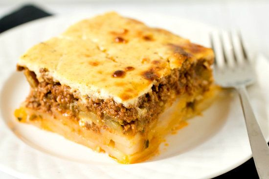 "<strong>Get the <a href=""http://www.browneyedbaker.com/2012/09/19/moussaka-recipe/"" target=""_blank"">Moussaka Recipe</a> by Br"