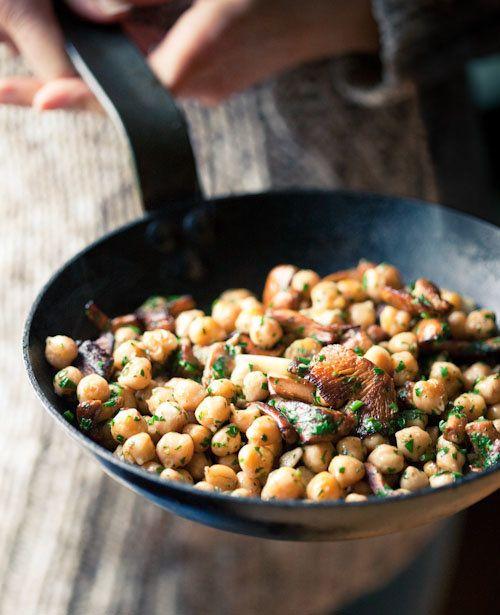 "<strong>Get the <a href=""http://mattikaarts.com/blog/vegetables/chickpea-chanterelle-local-black-truffle/"" target=""_blank"">Ch"