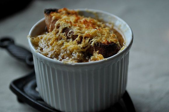 "<strong>Get the <a href=""http://food52.com/recipes/3193-french-onion-soup"" target=""_blank"">French Onion Soup recipe from Food"