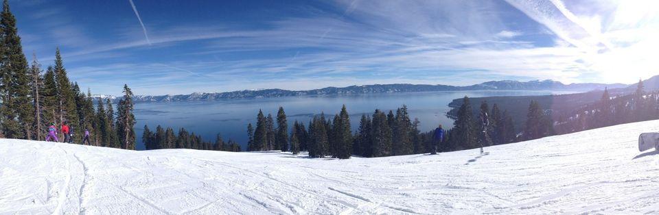 """""""Homewood Resort (Lake Tahoe, CA) has one of the best panoramic views around!""""  -Johnny Volk"""