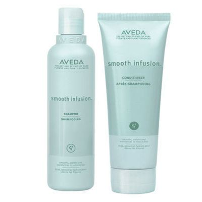 """$42, <a href=""""http://www.aveda.com/product/5250/16858/Collections/Smooth-InfusionTM/Smooth-Infusion-Shampoo/index.tmpl"""" targe"""
