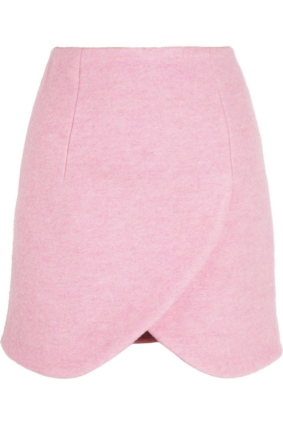 """<a href=""""http://www.net-a-porter.com/product/383162"""" target=""""_hplink"""">Carven skirt, $350</a>  Pink is the color of the season"""