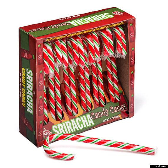 "Because we wouldn't wish a  <a href=""http://www.huffingtonpost.com/2013/11/06/sriracha-candy-cane_n_4228107.html?utm_hp_ref=s"