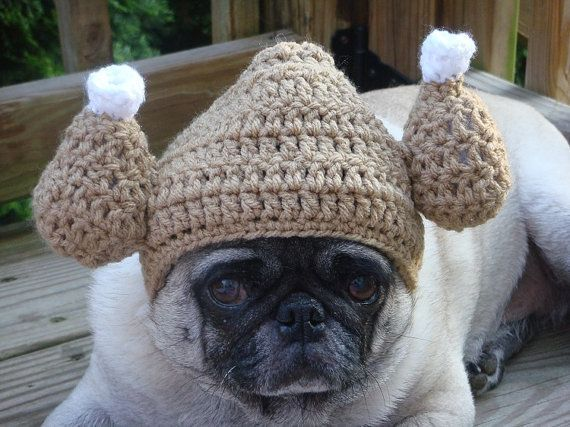 """Please help me."" <br><br><em><a href=""http://www.etsy.com/listing/156982059/gobble-gobble-turkey-hat-dog-hat-made-to?ref=sr_"