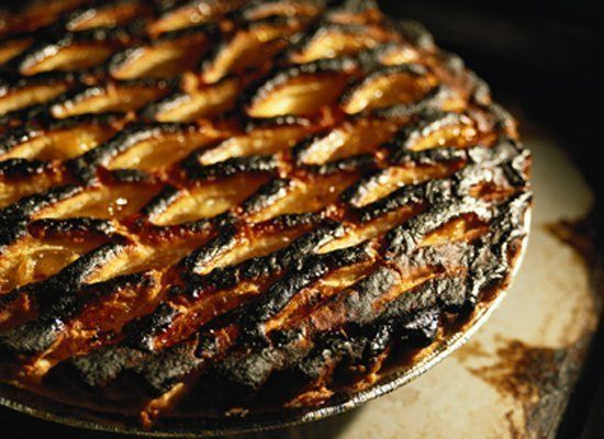 Some pies are finicky, and the filling takes longer to cook than the crust. Actually, most pies are finicky. That's why some