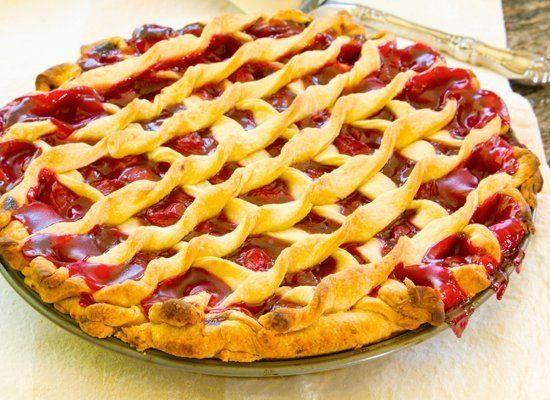 This happens, especially with lattice pies. So don't be too worried about it. But you can take a few steps to help prevent it