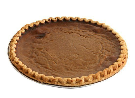 Custard pies, pumpkin pies and even pecan pies have a tendency to crack if baked at a very high temperature. Overbaking also
