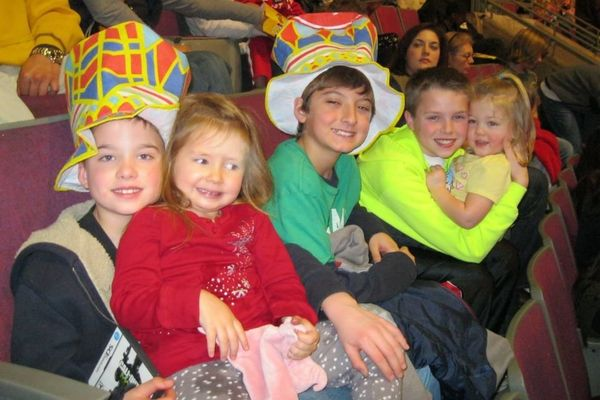 The day Ashley and I took the kids to the circus.