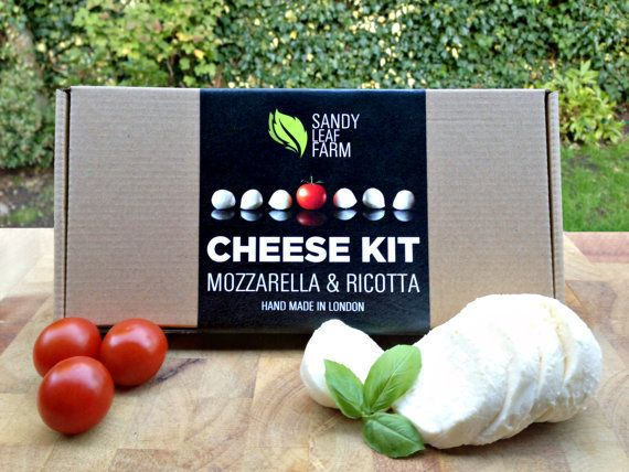 """When in doubt, give the gift of cheese. <br><br><em><a href=""""http://www.etsy.com/listing/159008589/mozzarella-and-ricotta-che"""