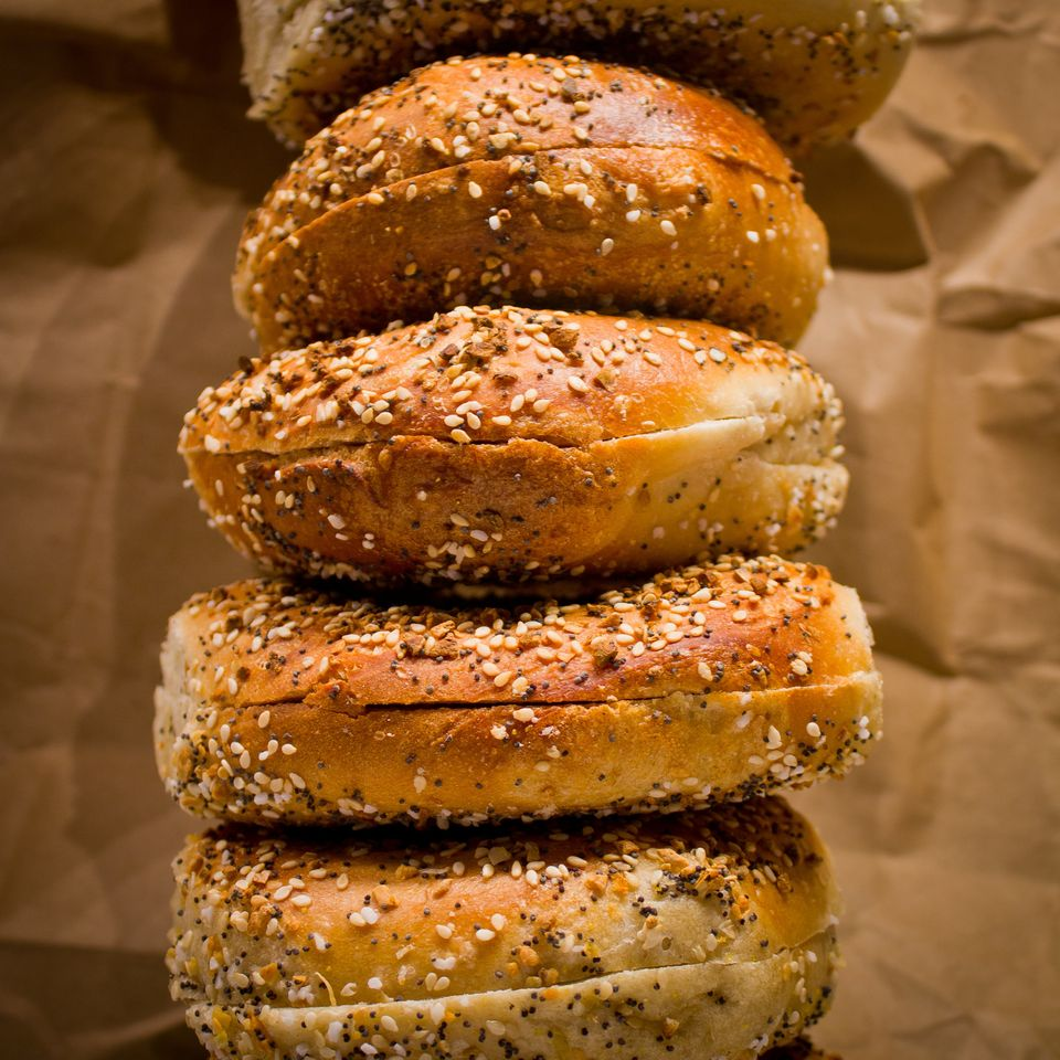 You might want to think twice about getting that schmear. In New York City, bagels that are sliced or prepared are subject to