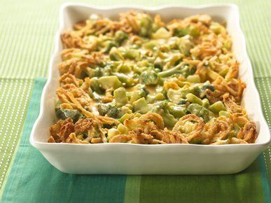 """Get the <a href=""""http://greengiant.com/recipes/detail/company-broccoli-three-cheese-bake"""" target=""""_blank"""">recipe</a>."""