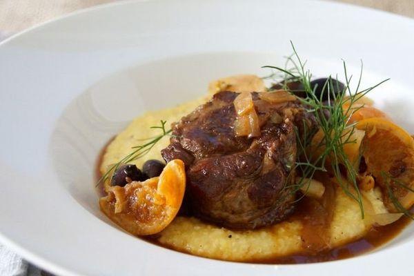 """<strong>Get the <a href=""""http://food52.com/recipes/21266-braised-pork-shoulder-with-fennel-oranges-olives"""" target=""""_blank"""">Br"""