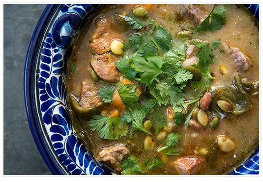 "<strong>Get the <a href=""http://www.simplyrecipes.com/recipes/pork_and_poblano_stew/"" target=""_blank"">Pork and Poblano Stew r"