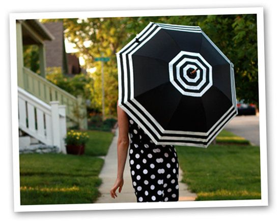 Turn A Blah Umbrella Into Stylish Accessory In No Time