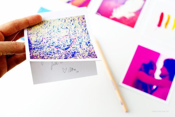 """Bring memories to life by turning <a href=""""http://www.huffingtonpost.com/2012/12/14/homemade-gift-ideas-instagram-cards_n_229"""