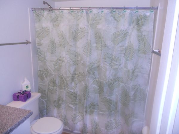 Where the shower liner hits the tub and where it ripples, as a result of being too wide, are breeding grounds for mold and mi