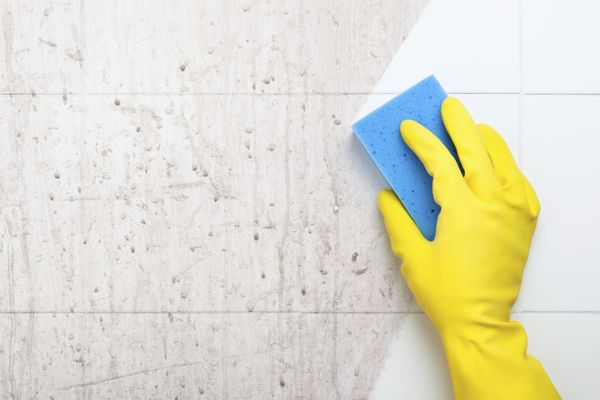 Do you use the same sponge to clean the shower, mirrors, sink and toilet? Prevent cross-contamination by organizing your spon