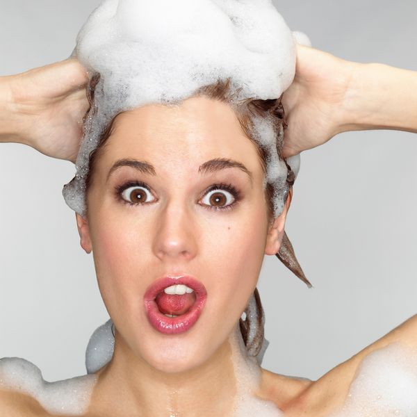 """Slowly back away from the shampoo. """"Ninety-three percent of the country's adults shampoo almost daily,"""" Mintel, a market rese"""