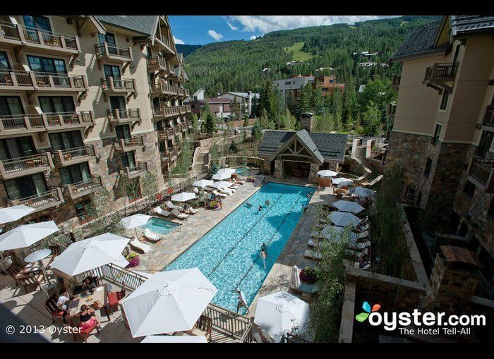 """<a href=""""http://www.oyster.com/vail/hotels/four-seasons-resort-vail/"""" target=""""_hplink"""">The Four Seasons Vail</a> opened in 20"""