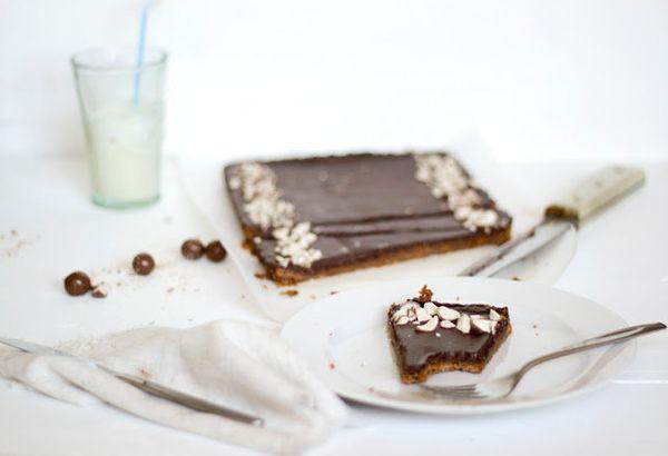 """<strong>Get the <a href=""""http://alwayswithbutter.blogspot.com/2011/05/chocolate-malt-tart.html"""" target=""""_blank"""">Chocolate Mal"""