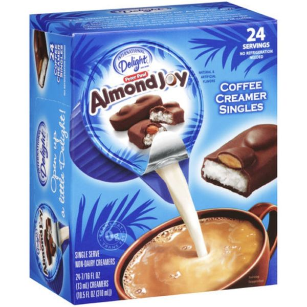 Of all the candy bars I would like to mix into my coffee, Almond Joy is almost certainly the last.