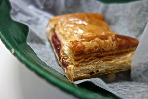 And a guava con queso pastelito is food fit for a king.