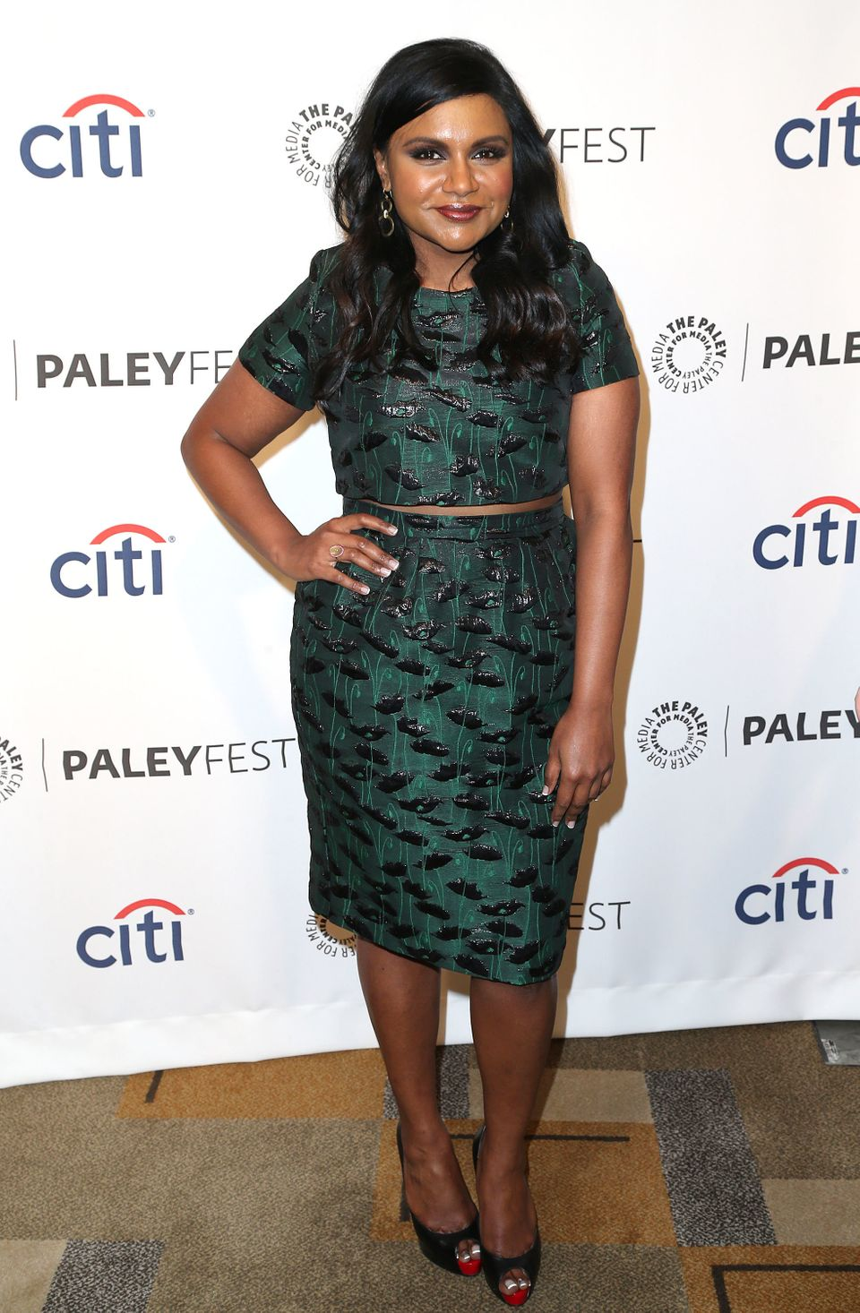 HOLLYWOOD, CA - MARCH 25: Executive Producer/Actress Mindy Kaling attends The Paley Center for Media's PaleyFest 2014 Honorin