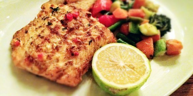 Grilled Salmon Cutlet @ Cucina 