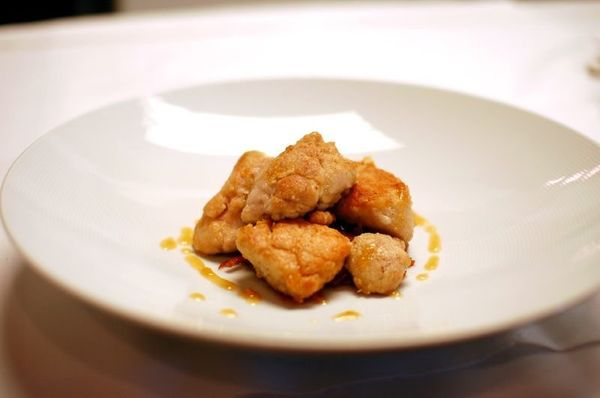 Sweetbreads are not bread, or sweet; they're glands (usually of a calf or lamb). We know that sounds gross, but just forget w