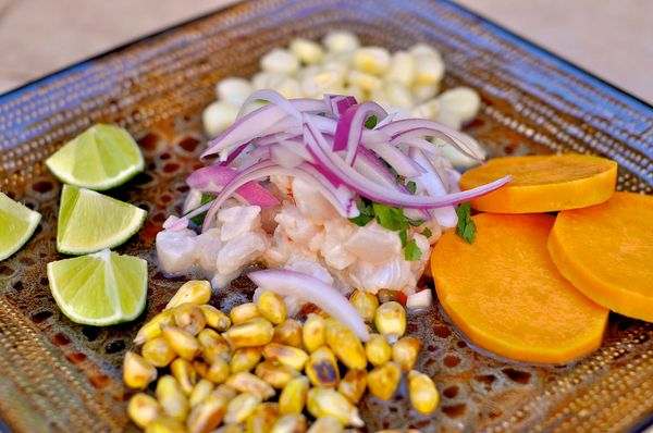 We thank the Americas every day for giving us ceviche.